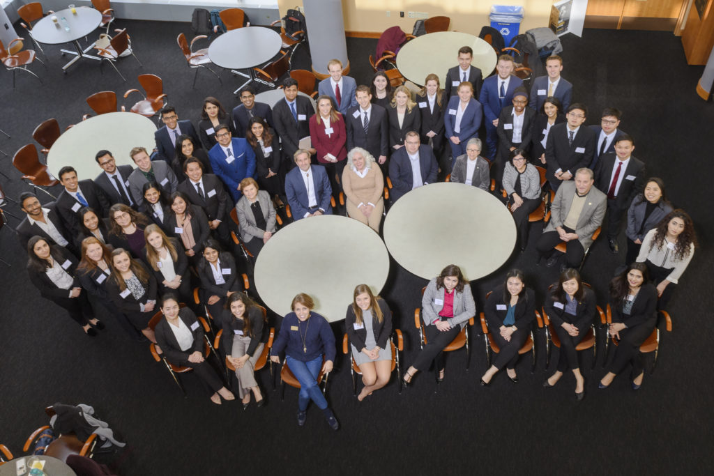 PowerShift Case Competition participants, gender in management case competition